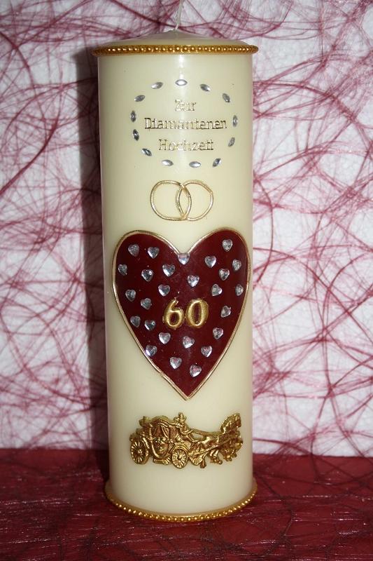 Diamantene Hochzeit Tischdeko Oma Opa Groeltern Goldene Diamantene